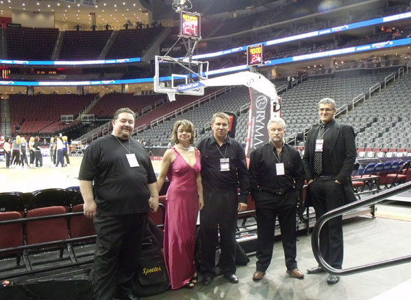 Russian band NJ NETS January 19, 2011